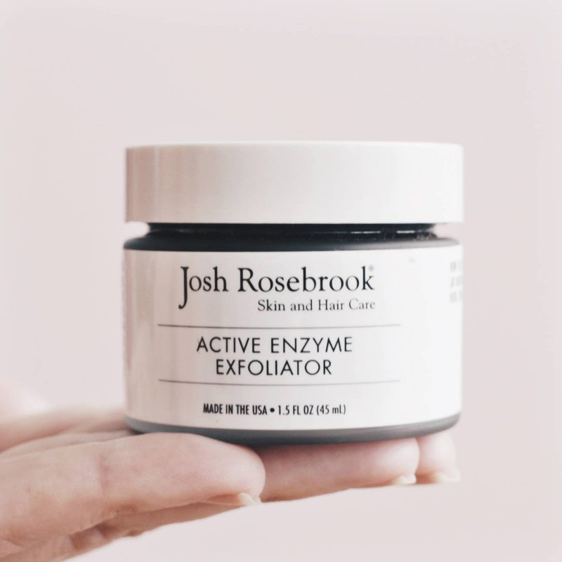 Josh Rosebrook Active Enzyme Exfoliator Review