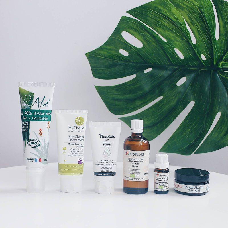 Summer Natural Beauty Essentials (Mes indispensables soins naturels pour l'été)
