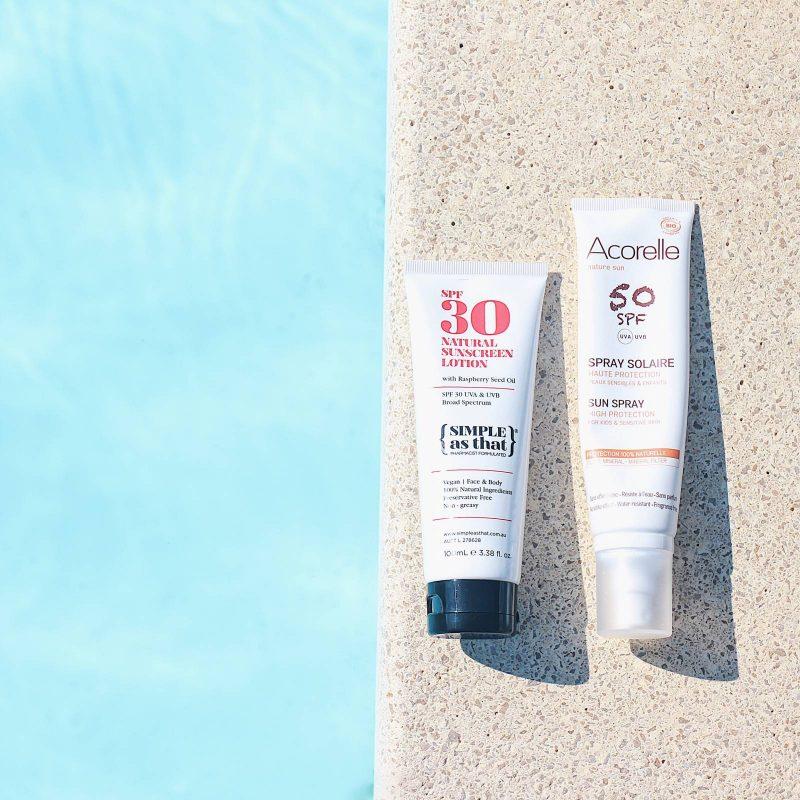 My natural sunscreen for summer (Mes crèmes solaires naturelles de l'été)