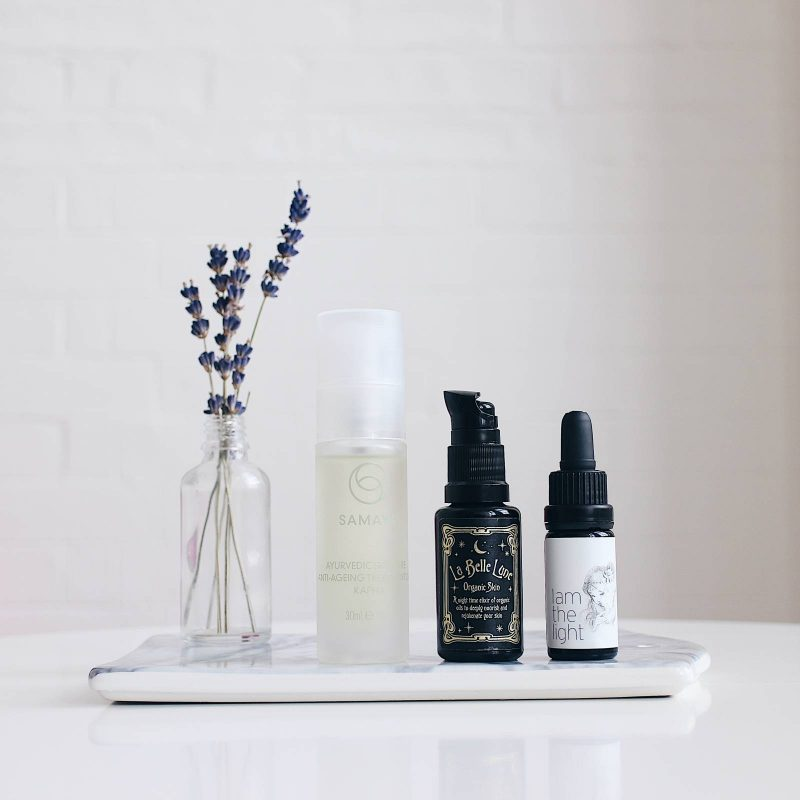 My favorite natural face oils (Mes huiles visage coups de coeur)