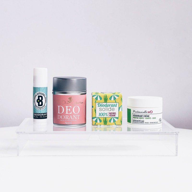 5 Organic & Naturals Deodorants Review  (Revue – 5 déodorants bio & naturels)